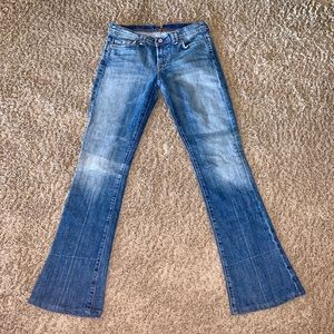 7 for All mankind 7 Fam Rocker bootcut jeans 27